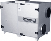 Приточно-вятяжная установка Ostberg HERU 600 S RWR